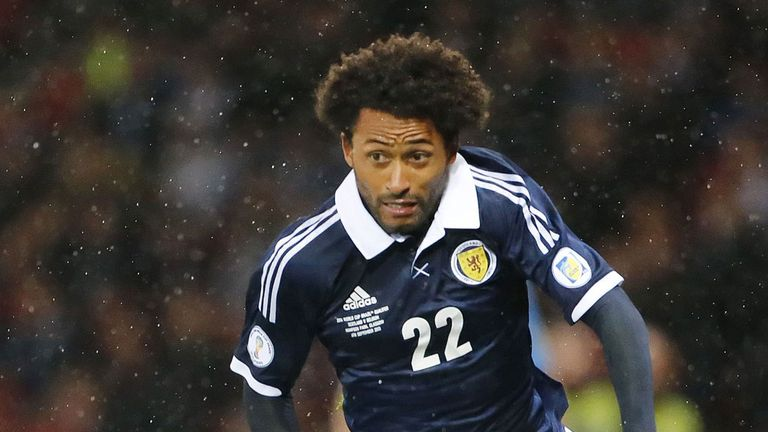 Ikechi Anya: Savoured his first experience of international football with Scotland
