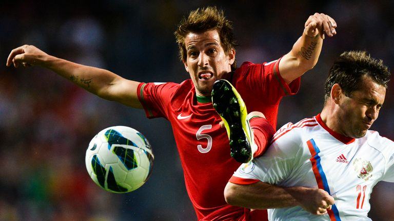 Fabio Coentrao: The Portuguese defender was subject to a loan bid from Man United on transfer deadline day.