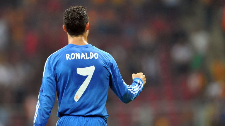 Cristiano Ronaldo: Scored a superb hat-trick in Real's thrashing of Galatasaray