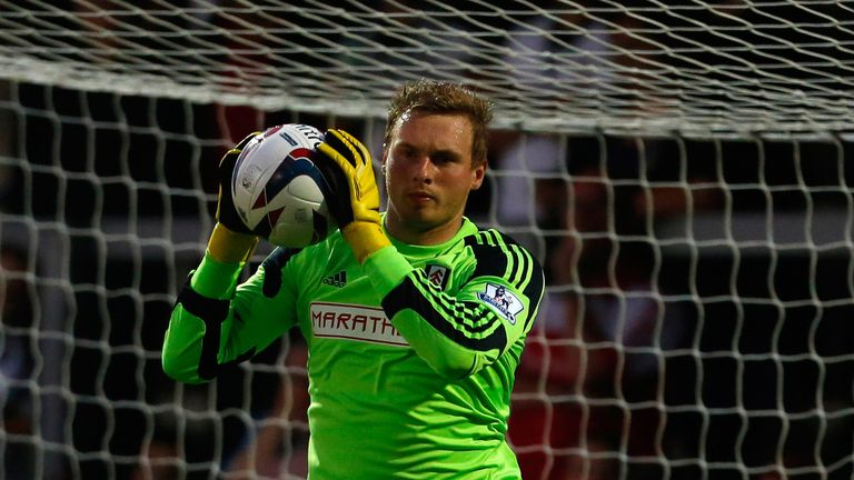 David Stockdale: Back on the bench after covering for Maarten Stekelenburg