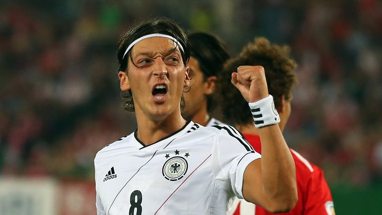 Mesut Ozil: Arsenal's new signing was on target for Germany