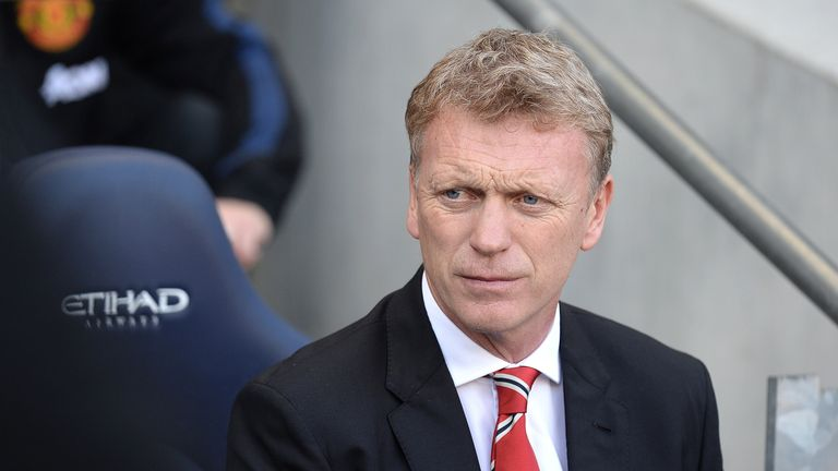 David Moyes: Keen for Manchester United to respond to derby defeat to Manchester City