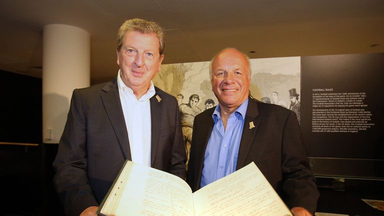 FA chairman Greg Dyke has offered his full support to Roy Hodgson