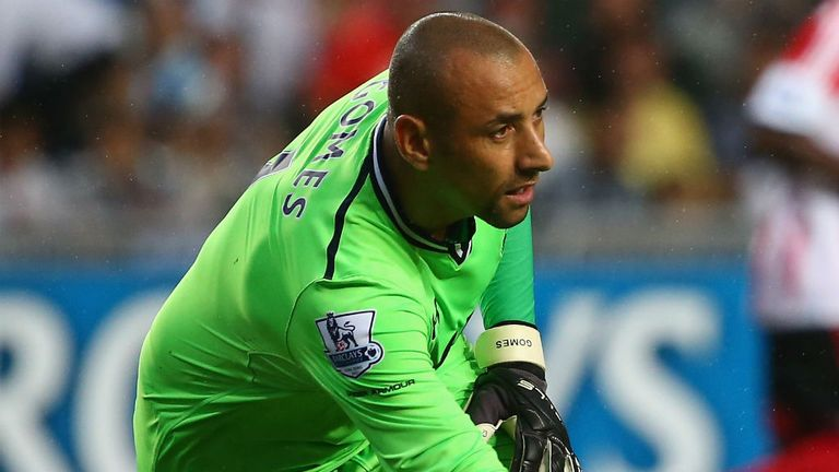 Heurelho Gomes: Tottenham keeper is staying at the club