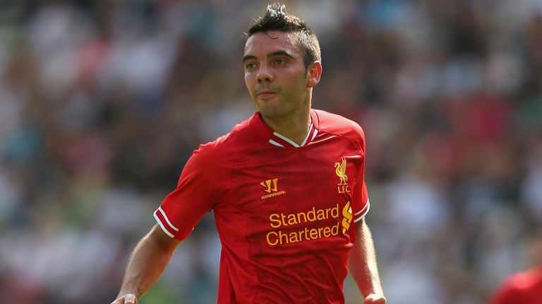 Iago Aspas: Has endured a frustrating start to his Liverpool career