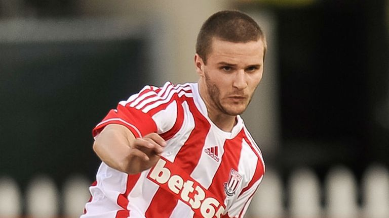 Jamie Ness: Yet to get Stoke chance