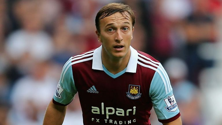 Mark Noble: Insists Hammers can cope without Andy Carroll