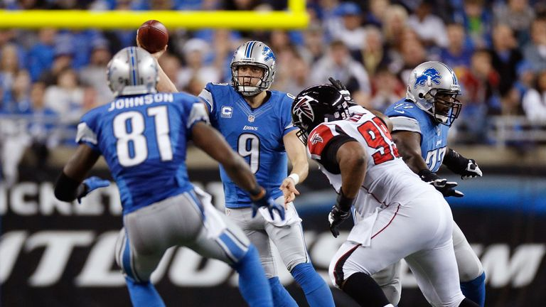 Matthew Stafford to Calvin Johnson: familiar sight for Detroit Lions fans