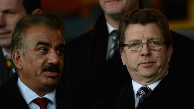 Omar Khan and Gerry Sutcliffe have left Odsal after only a year at the helm