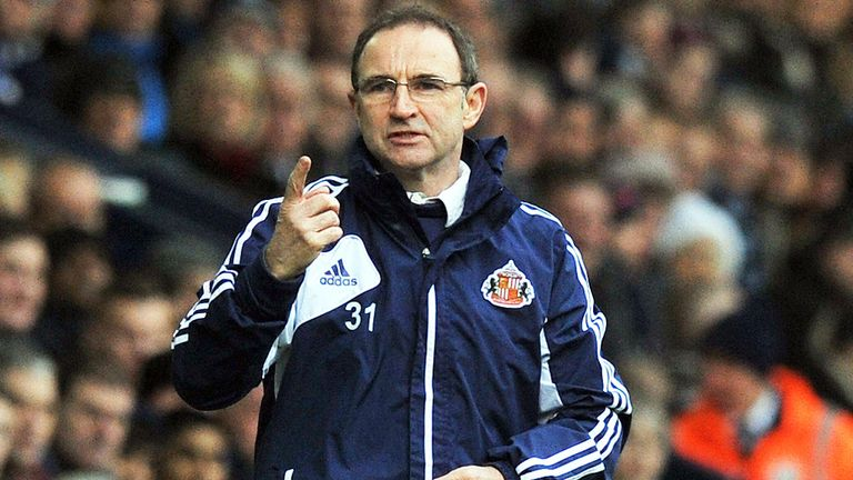 Martin O'Neill: Big favourite to be named Republic of Ireland boss