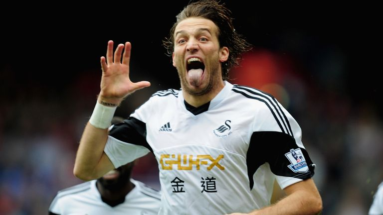 Michu: Celebrates his opener