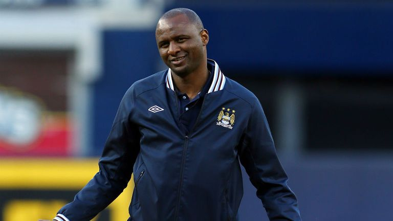 Patrick Vieira: Feels there are issues to address at youth level in England