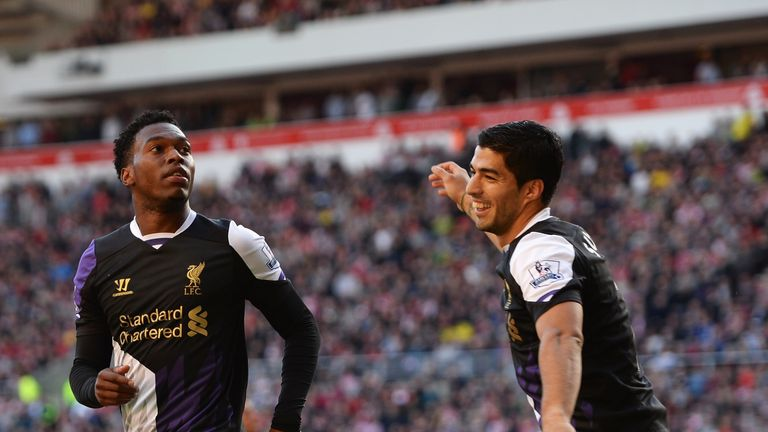 Daniel Sturridge (left) and Luis Suarez: Destined to rack up points aplenty again