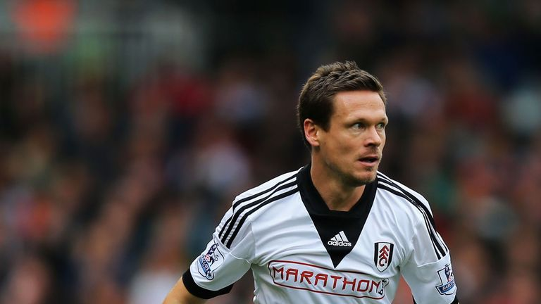 Sascha Riether: Fulham full-back tangled with Adnan Januzaj late on