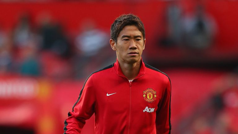 Shinji Kagawa: Has not played regularly due to his international commitments