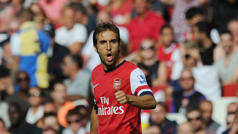 Mathieu Flamini: Concussion rules midfielder out against Dortmund