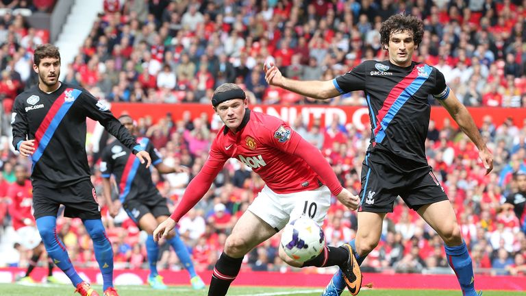 Wayne Rooney: Made his return against Crystal Palace
