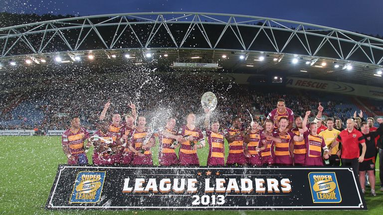 Huddersfield: celebrated League Leaders' Shield success