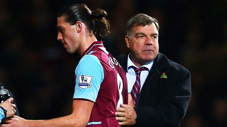 Andy Carroll: West Ham boss Sam Allardyce admits he is unsure when the striker is due to return from injury