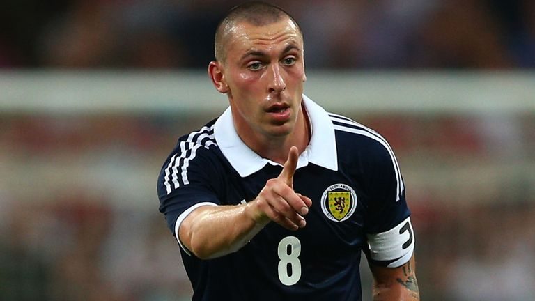 Scott Brown: Captain ready for a Skopje scrap