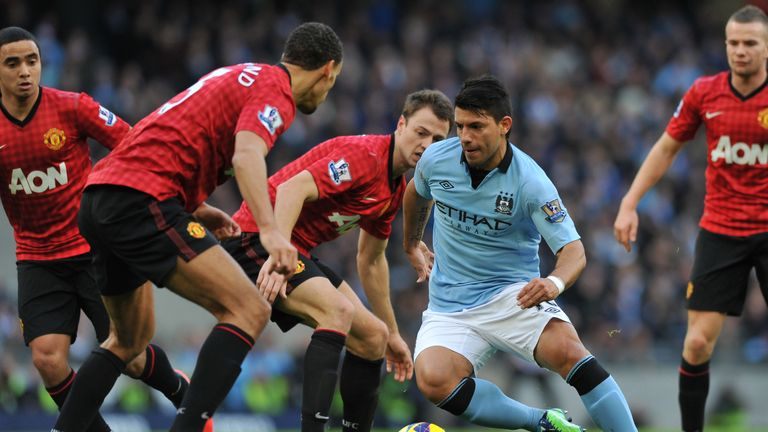 Sergio Aguero: Manchester City striker expected to threaten Manchester United again
