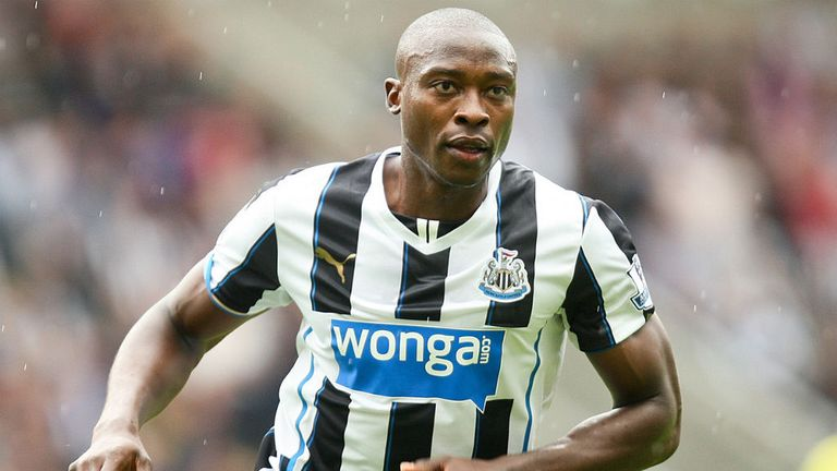 Shola Ameobi: Will see his contract at Newcastle expire next summer