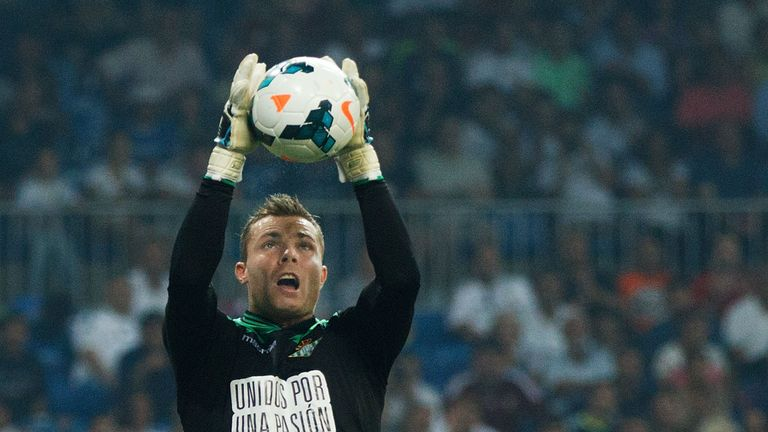 Stephan Andersen: Real Betis keeper unsure why he has been dropped
