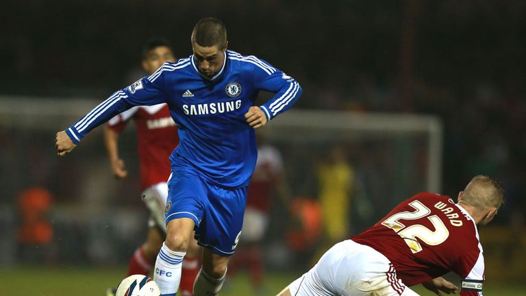 Fernando Torres: Influential in Chelsea's 2-0 victory at Swindon
