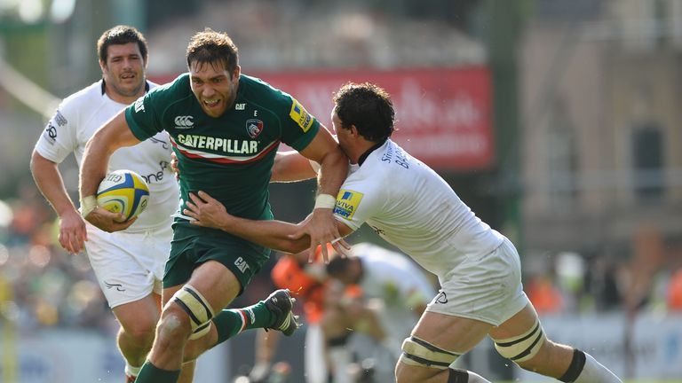 Graham Kitchener: Returns to the Leicester side after missing the Wasps match last weekend