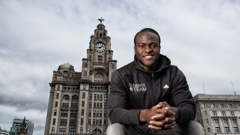 Victor Moses: Happy with his start to life in Liverpool