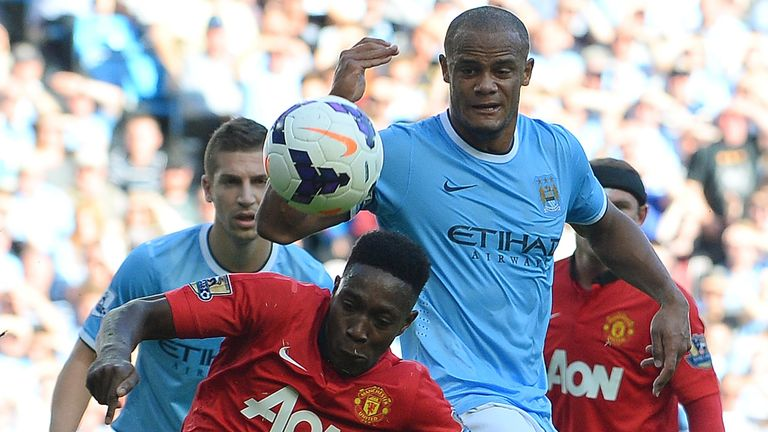 Vincent Kompany: Challenges Danny Welbeck in derby