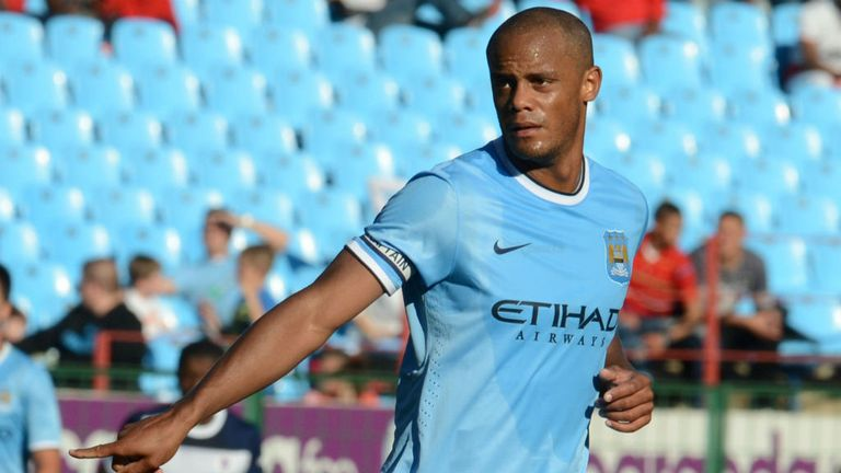 Vincent Kompany: Will miss the game against CSKA Moscow