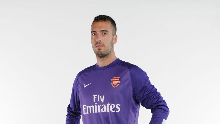 Emiliano Viviano: Palermo goalkeeper has joined Arsenal on loan