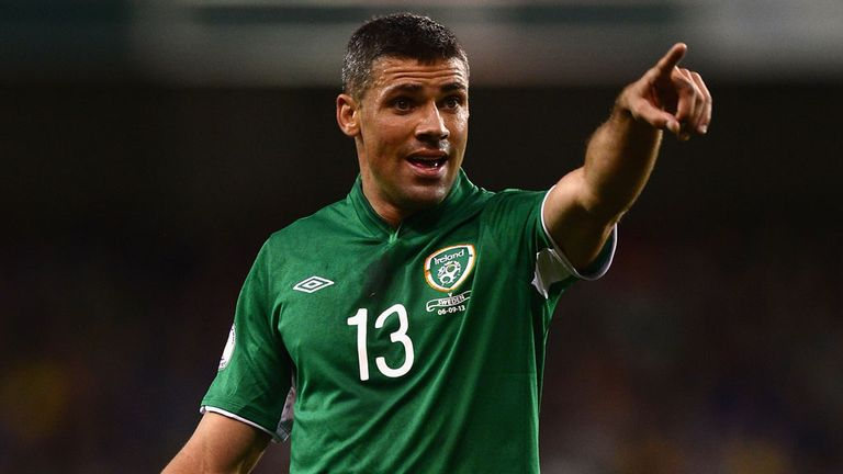 Jon Walters: An injury doubt for the Republic of Ireland