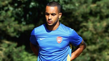 Theo Walcott: Arsenal forward has had successful stomach surgery