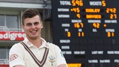 Dominic Sibley: Included in England U19 squad