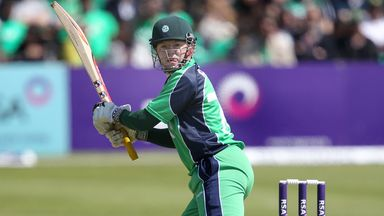 Niall O'Brien: Led Ireland's run chase with an unbeaten 65