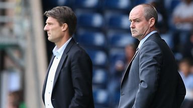 Steve Clarke: Not happy with his side going forward
