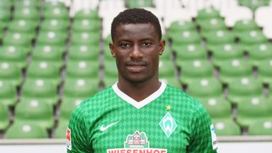 Joseph Akpala: Werder Bremen striker has joined Kardemir Karabukspor on loan