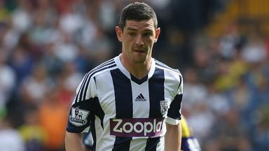 Graham Dorrans: Staying at West Brom