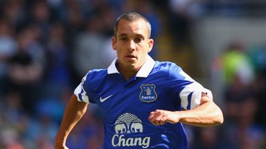 Leon Osman: Everton midfielder hoping to earn further international recognition