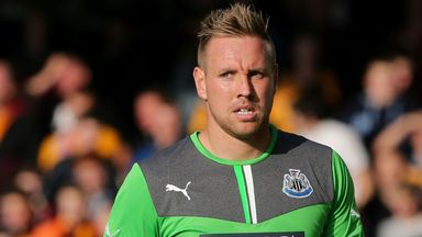 Rob Elliot: Impressed against Southampton, but ending up on the losing side