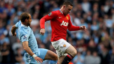 Pablo Zabaleta: Words of praise for Wayne Rooney