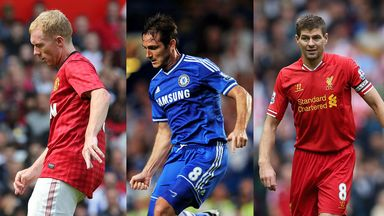 Paul Scholes, Frank Lampard or Steven Gerrard - Who is the best?