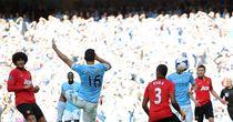 Sergio Aguero: Scored twice in last season's derby at the Etihad