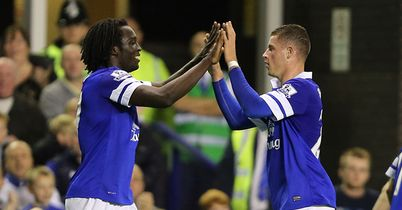 Lukaku and Barkley: Everton's star duo