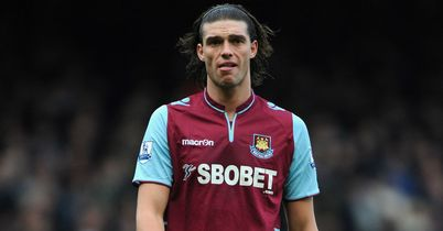 Andy Carroll: England striker is back training with West Ham