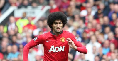 Marouane Fellaini: Impressed in Manchester United win