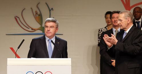 Germany's Thomas Bach elected new President of International Olympic Committee