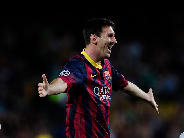 Lionel Messi netted a hat-trick in Barcelona's victory